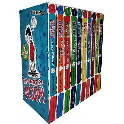 £20.98 • Buy The World Of Norm Collection Jonathan Meres 10 Books Set World Book Day Norm
