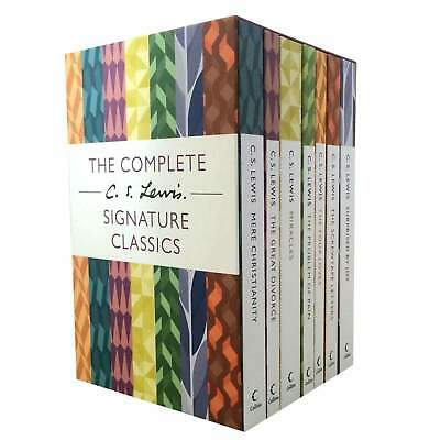 £16.45 • Buy The Complete C. S. Lewis Signature Classics 7 Books Boxed Set Collection NEW