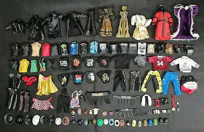 £3.49 • Buy WWE Clothes Wearables Accessories For Wrestling Figures Lot Wwf/wcw/ecw