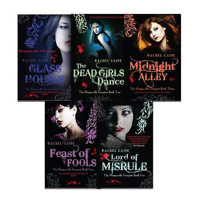 £15.99 • Buy Morganville Vampires Series(1-5) Collection 5 Books Set Pack By Rachel Caine