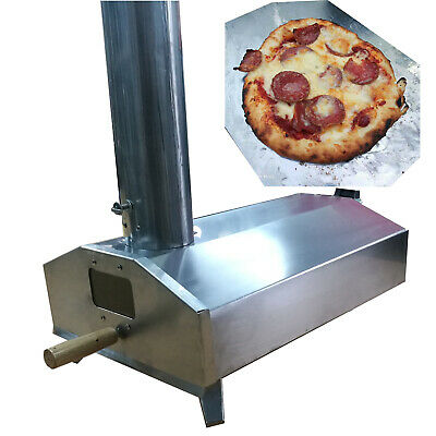 Super Grills  Outdoor Pizza Oven Stainless Steel Table Top Portable Italian New  • 159£