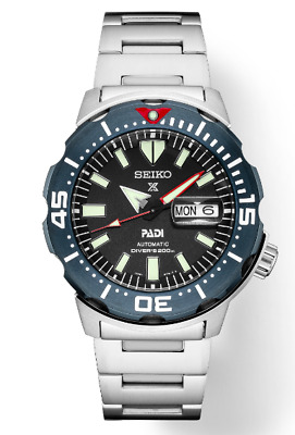 $ CDN476.42 • Buy Prospex PADI Special Edition MONSTER SRPE27 200 METER DIVER (FEDEZ 2 DAY SHIP)