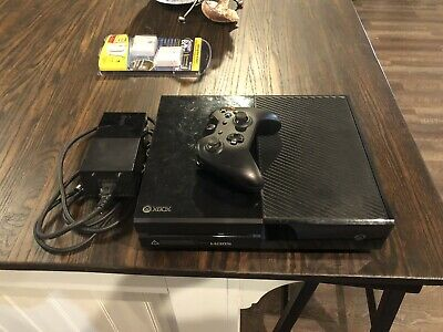 $96 • Buy Microsoft XBox One X Video Game Console 1TB Black USED Controller Also