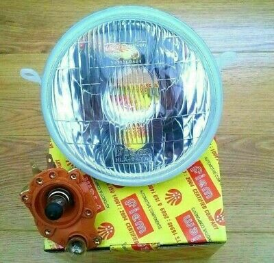 Vespa Complete Headlight With Holder Halogen And Parking Bulb Px/p/lml/t5 • 26.99£