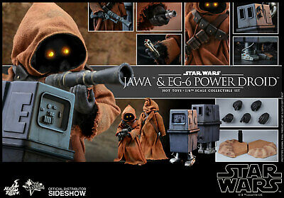 $274.99 • Buy Hot Toys Star Wars Jawa & EG6 Power Droid Sixth Scale 904942 Sideshow In Stock
