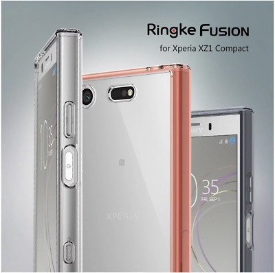 AU16.95 • Buy Ringke Fusion Shockproof Case For Sony Xperia XZ1 - HIGH QUALITY - FAST SHIPPING
