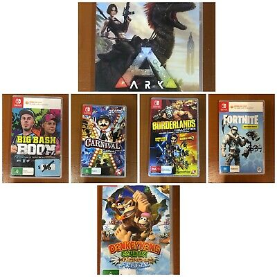 AU59 • Buy Assorted BRAND NEW & LIKE NEW Nintendo Switch Games - REVISED 3/10