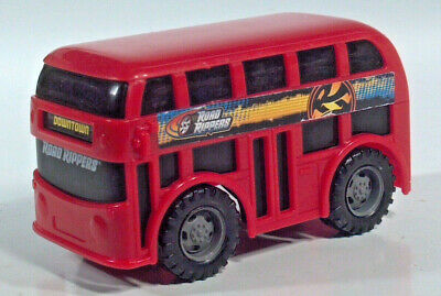 $ CDN4.97 • Buy Toy State Road Rippers London Bus Double Decker 3.5  Plastic Scale Model