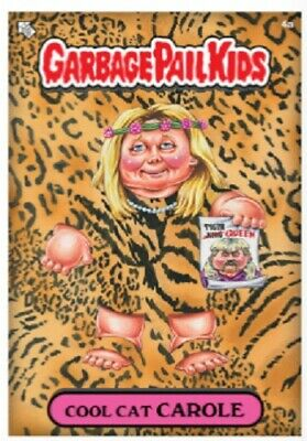 $7.99 • Buy NFT Crypto - Topps Garbage Pail Kids TIGER KING EXOTIC - COOL CAT CAROLE 4A Base