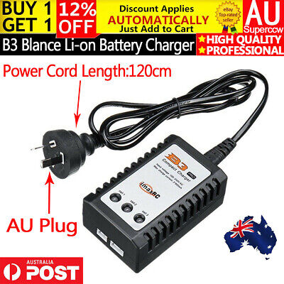 AU18.99 • Buy B3 Balance Charger For 7.4V 11.1V 2S 3S Lipo Battery J8 J9 J10 SCAR Gel Blaster