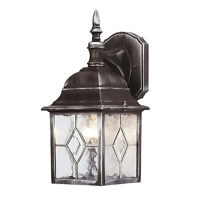 Outside Outdoor Traditional Leaded Effect Wall Security Lantern Light Fitting  • 22.65£