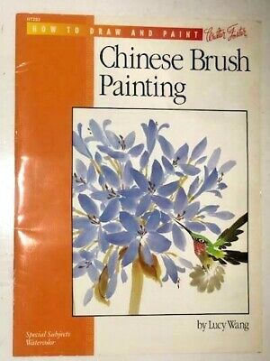 Chinese Brush Painting By Lucy Wang How To Book Walter Foster HT233 Watercolor • 11.37£