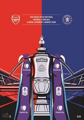 £19.99 • Buy FA CUP FINAL PROGRAMME 2020 Chelsea V Arsenal - Immediate FIRST CLASS Dispatch!!