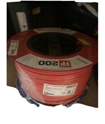 Prysmian FP200 Gold 2 Core 1.5mm Red Fire Alarm Cable - 100m • 75£