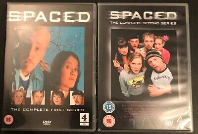 Spaced Complete First And Second Series DVD Channel 4 Simon Pegg Nick Frost • 5£