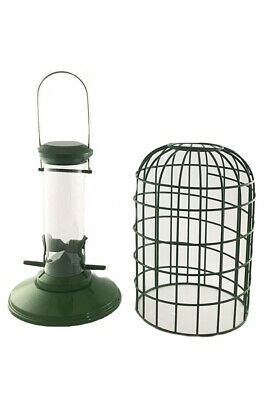 Wild Bird Small Seed Feeder And Guardian Squirrel Proof • 14.99£
