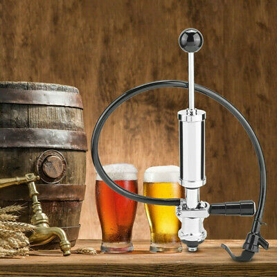 """4""""Home Heavy Duty Beer Keg S System  Draft Beer Picnic Tap Party Pump • 55.99£"""