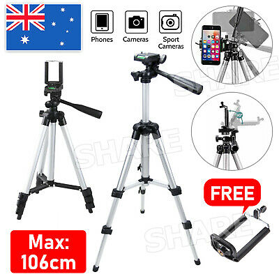 AU16.85 • Buy Adjustable Camera Tripod Mount Stand Holder For IPhone 12 Pro SE Max Samsung S20