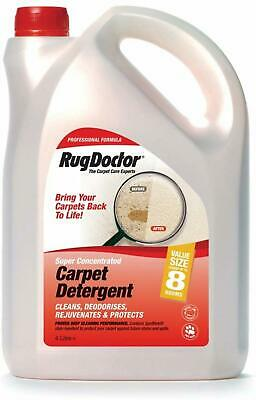 Rug Doctor Carpet Cleaner Shampoo Cleaning Detergent Odour Neutralising 4 L NEW • 25.57£