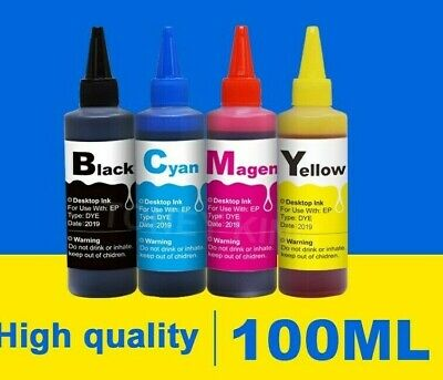 Lot Sublimation Refill Ink For Epson & Ricoh Printers Black Cyan Magenta Yellow  • 38.98£
