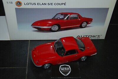 $ CDN227.15 • Buy Lotus Elan Coupe Red Autoart 1/18  See Info  And Read Text