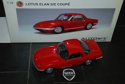 $ CDN234.20 • Buy Lotus Elan Coupe Red Autoart 1/18  See Info  And Read Text