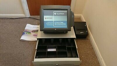 £325 • Buy J2 9200 (posligne P1-600) Complete 12  Epos System With Icrtouch 2019 Licenced