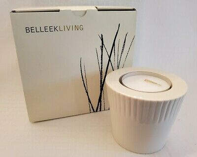 £22.62 • Buy Belleek Living Irish China Votive With Tealight Candle - 3.5 H.- New In Box