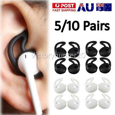 AU12.90 • Buy 5/10x Airpods Earpod Ear Hook Cover For Apple Airpods Earbuds Ear Tips Silicone