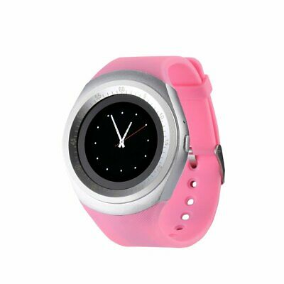 Y1 Round Screen Smart Watch Adults Wearable Devices Support SIM Card • 8.88£
