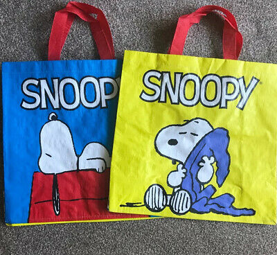 Snoopy Tesco Shopping Bag Tote - New • 4.99£