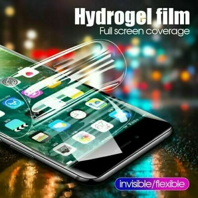 £1.99 • Buy For Apple IPhone 11 Pro Max X 8 7 Plus XR Soft Hydrogel Screen Protector Film