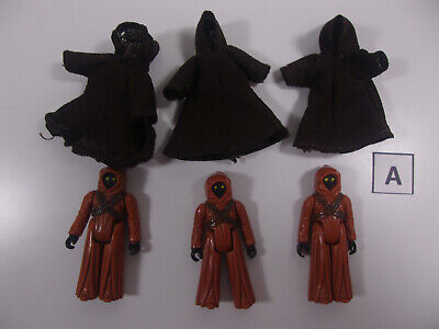 $ CDN80.08 • Buy Vintage Star Wars Lot Of 3 Jawa Action Figures 1977 Kenner A