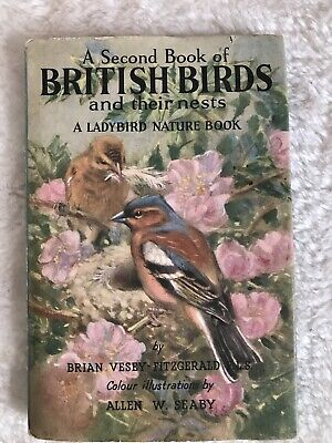 Ladybird Books,A Second Book Of British Birds And Their Nests,2'6d,Series 536 • 9.99£