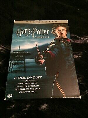 $ CDN25.22 • Buy Harry Potter Complete 4 Film Collection (DVD, 2011, Disc Set)