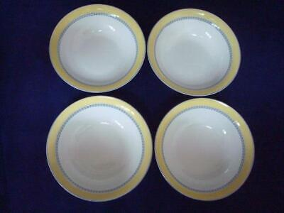 Royal Doulton Blueberry 6 1/4  Cereal Bowls X 4 • 24£