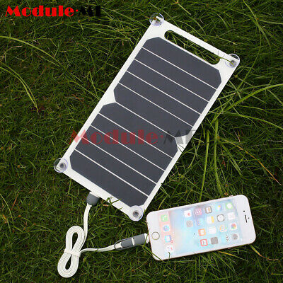 Portable 10W 5V Solar Power Charging Panel USB Charger For Samsung IPhone PC • 10.99£