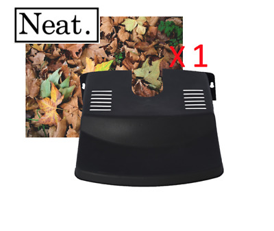 £4.99 • Buy 1 X Drain Leaf Guard - Cover - Tidy -  Black Plastic - Barrier - Protector