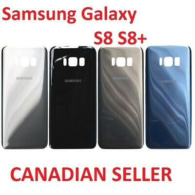 $ CDN8.99 • Buy Replacement Rear Back Glass Battery Cover For Samsung Galaxy S8 S8 Plus