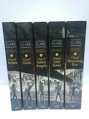 The Mortal Instruments Books 2-6 By Cassandra Clare (Paperback) • 13.95£