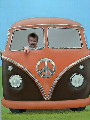£320 • Buy Peep Through Thru Board Photo Stand In VW Style Campervan 60s Prop