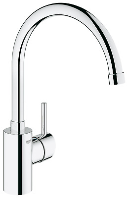 Grohe Concetto Kitchen Single-Lever Sink Mixer Tap Spout Wivel 32661003 • 129.99£