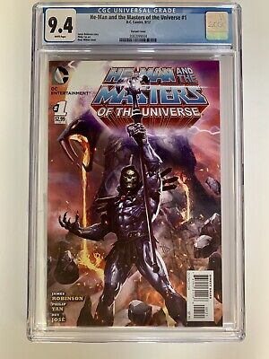 $765 • Buy He-Man And The Masters Of The Universe #1 Dave Wilkins Variant CGC 9.4