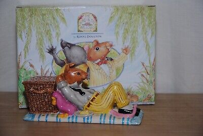 $ CDN57.56 • Buy The Wind In The Willows By Royal Doulton Sprawling By The Riverbank Figurine WW5