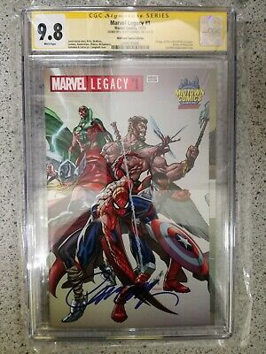 AU158.68 • Buy Marvel Legacy #1 Midtown Edition Variant Cgc Ss 9.8 Signed J. Scott Campbell