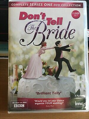 Don't Tell The Bride - Series 1 - Complete (DVD, 2013, 2-Disc Set) • 5.99£