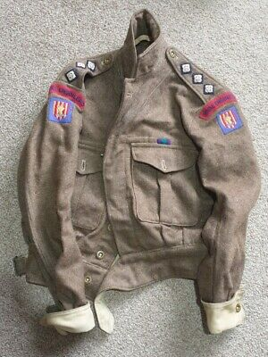 Military Royal Engineers Tunic Battle Blouse  1951 • 125£