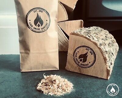 100% Oak Saw Dust & Shavings Kiln Dried Wood For Smoking Hot Or Cold - Freepost! • 7.99£