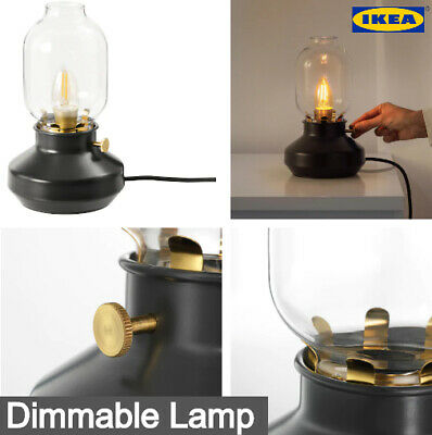 IKEA Tarnaby Dimmable Table Lamp Red/Black Anthracite NEW Free Delivery UK • 34.99£