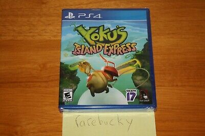 AU18.29 • Buy Yoku's Island Express (Playstation 4 PS4) NEW SEALED Y-FOLD MINT, RARE US VERS